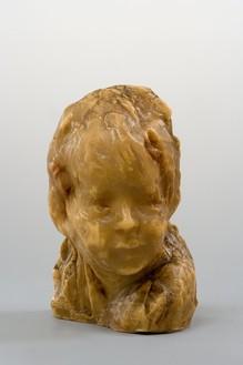 Medardo Rosso, Bambino Ebreo, c. 1920–25 Wax on plaster, 9 ⅜ × 7 ⅛ × 5 ¾ inches (23.7 × 17.9 × 14.4 cm)Photo: Rabatti & Domingie