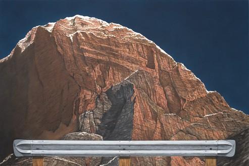 Ed Ruscha, Untitled, 2020 Acrylic on canvas, 32 × 48 inches (81.3 × 121.9 cm)© Ed Ruscha. Photo: Paul Ruscha
