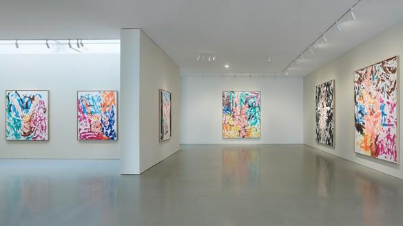 Installation view Artwork © Georg Baselitz. Photo: Robert Divers Herrick