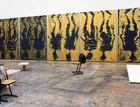Georg Baselitz's studio, Ammersee, Germany, 2019