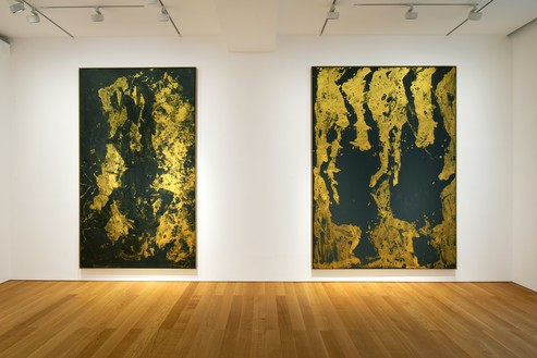 Installation view Artwork © Georg Baselitz. Photo: Martin Wong
