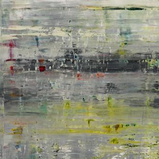 Gerhard Richter, Cage 2, 2006 (detail) Oil on canvas, 118 ⅛ × 118 ⅛ inches (300 × 300 cm)© Gerhard Richter 2020 (05102020)