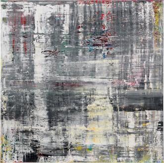 Gerhard Richter, Cage 5, 2006 Oil on canvas, 118 ⅛ × 118 ⅛ inches (300 × 300 cm)© Gerhard Richter 2020 (05102020)