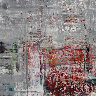Gerhard Richter, Cage 4, 2006 (detail) Oil on canvas, 114 ¼ × 114 ¼ inches (290 × 290 cm)© Gerhard Richter 2020 (05102020)