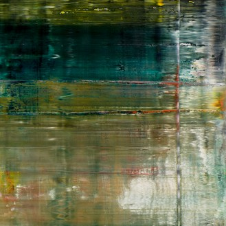 Gerhard Richter, Cage 1, 2006 (detail) Oil on canvas, 114 ¼ × 114 ¼ inches (290 × 290 cm)© Gerhard Richter 2020 (05102020)