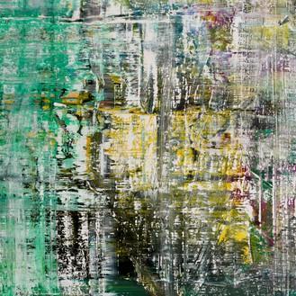 Gerhard Richter, Cage 6, 2006 (detail) Oil on canvas, 118 ⅛ × 118 ⅛ inches (300 × 300 cm)© Gerhard Richter 2020 (05102020)