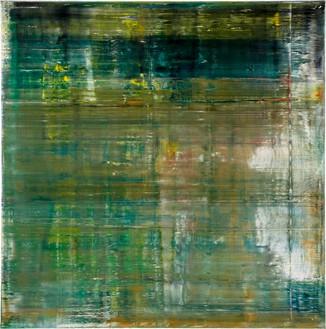 Gerhard Richter, Cage 1, 2006 Oil on canvas, 114 ¼ × 114 ¼ inches (290 × 290 cm)© Gerhard Richter 2020 (05102020)