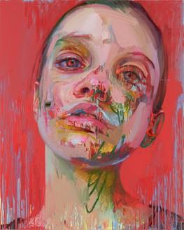 Jenny Saville, Lethe, 2020 Oil on canvas, 59 ⅛ × 47 ¼ inches (150 × 120 cm)© Jenny Saville. Photo: Prudence Cuming Associates