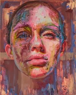 Jenny Saville, Meridian, 2019–20 Oil on canvas, 59 ⅛ × 47 ¼ inches (150 × 120 cm)© Jenny Saville. Photo: Prudence Cuming Associates