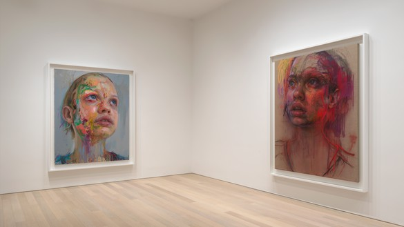 Installation view Artwork © Jenny Saville. Photo: Rob McKeever