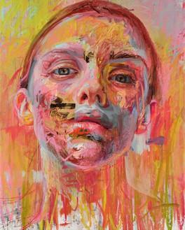 Jenny Saville, Volta, 2020 Oil on linen, 78 ¾ × 63 inches (200 × 160 cm)© Jenny Saville. Photo: Prudence Cuming Associates