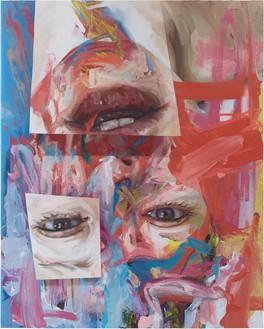 Jenny Saville, Virtual, 2020 Oil on canvas, 78 ¾ × 63 inches (200 × 160 cm)© Jenny Saville. Photo: Prudence Cuming Associates