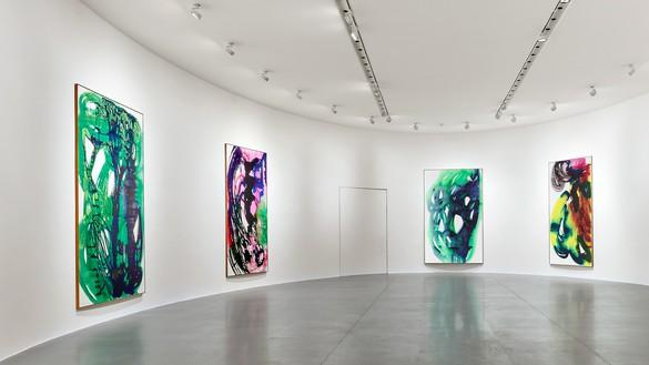 Installation view Artwork © Katharina Grosse and VG Bild-Kunst, Bonn, Germany 2020. Photo: Matteo D'Eletto, M3 Studio