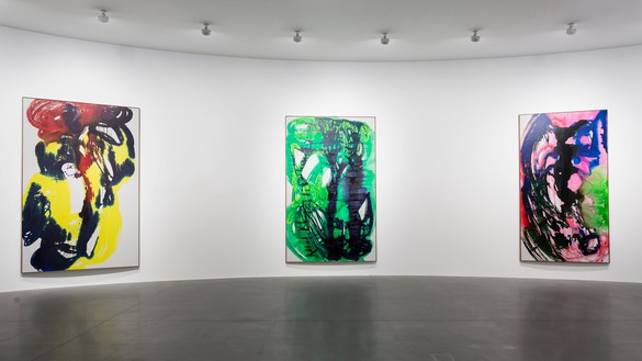 Installation view Artwork © Katharina Grosse and VG Bild-Kunst, Bonn, Germany 2020. Photo: Leonardo Cestari