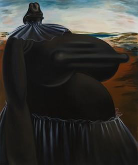 Louise Bonnet, Dawn, 2020 Oil on linen, 72 × 60 inches (182.9 × 152.4 cm)© Louise Bonnet. Photo: Jeff McLane