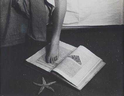 "Man Ray, Film Still from ""L'étoile de mer"", 1928 Gelatin silver print, 9 ⅛ × 11 ⅞ inches (23 × 30 cm)© Man Ray Trust/Artists Rights Society (ARS), New York/ADAGP, Paris 2019"