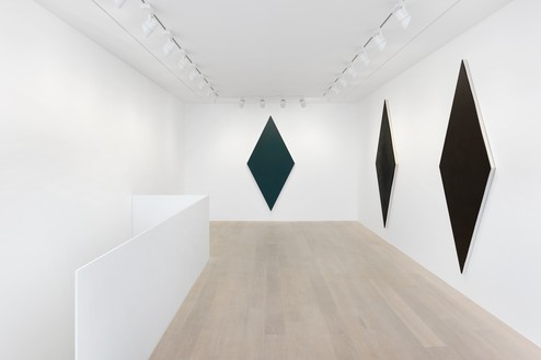Installation view Artwork © Olivier Mosset