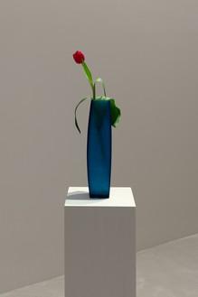 Installation view with Piero Golia, Still Life (Tulip) (2019) Artwork © Piero Golia. Photo: Lucy Dawkins