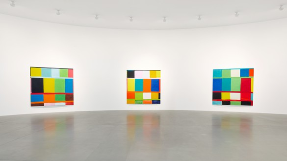 Installation view Artwork © Stanley Whitney. Photo: Matteo D'Eletto, M3 Studio