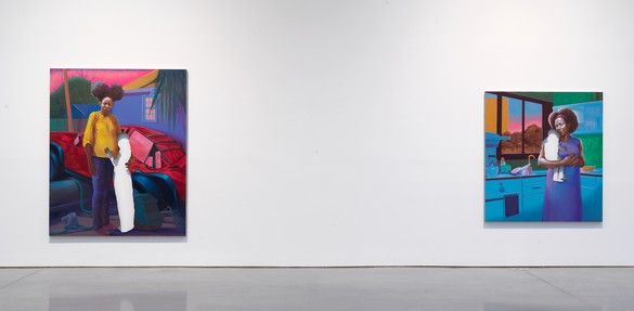 Installation view Artwork © Titus Kaphar. Photo: Rob McKeever