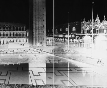 Vera Lutter, San Marco, Venice XVIII: November 29–30, 2005, 2005