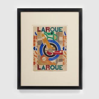 Fernand Léger, La Roue (Projet d'affiche pur La Roue D'Abel Gance), 1920 Watercolor on paper, 16 ¾ × 12 ⅛ inches (42.5 × 30.8 cm)© 2020 Artists Rights Society (ARS), New York/ADAGP, Paris