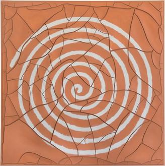 Adriana Varejão, Espiral (Spiral), 2020 Oil and plaster on canvas, 70 ⅞ × 70 ⅞ inches (180 × 180 cm)© Adriana Varejão. Photo: Vicente de Mello