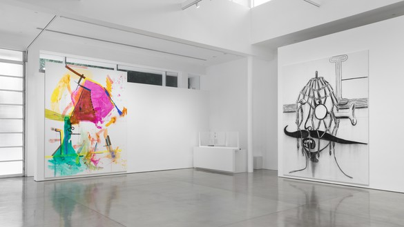 Installation view Artwork © Albert Oehlen. Photo: Jeff McLane