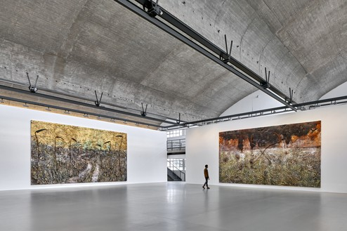 Installation view Artwork © Anselm Kiefer. Photo: Thomas Lannes
