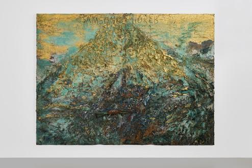 Installation view Anselm Kiefer, Samson (2014–20) Artwork © Anselm Kiefer. Photo: Thomas Lannes