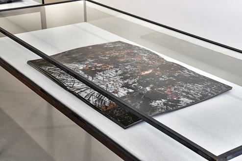 Installation view with Anselm Kiefer, Hortus Conclusus, 2020–21 Artwork © Anselm Kiefer. Photo: Thomas Lannes