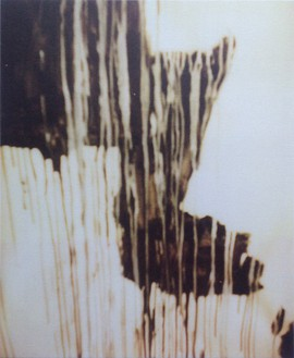 Cy Twombly, Untitled (Detail of Painting), Gaeta, 2002 Color dry-print, edition of 6© Fondazione Nicola Del Roscio