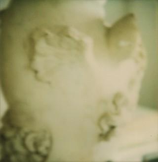 Cy Twombly, Detail of Neoclassical Sculpture, Gaeta, 2000 Color dry-print, edition of 8© Fondazione Nicola Del Roscio