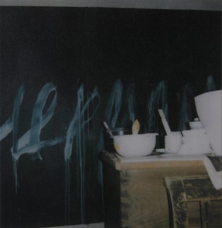 Cy Twombly, Painting Detail, Lexington, 2007 Color dry-print, edition of 6© Fondazione Nicola Del Roscio
