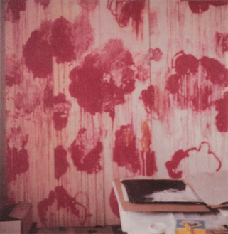 Cy Twombly, Unfinished Painting, Gaeta, 2008 Color dry-print, edition of 6© Fondazione Nicola Del Roscio