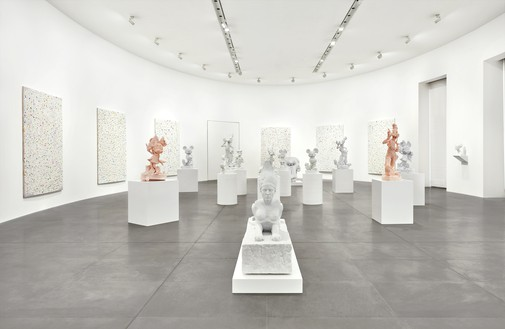 Installation view Artwork © Damien Hirst and Science Ltd. All rights reserved, DACS 2021. Photo: Matteo D'Eletto