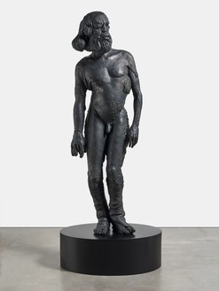 Damien Hirst, Proteus, 2012 Bronze, 94 ½ × 38 ¾ × 25 ⅞ inches (240 × 98.3 × 65.5 cm), edition of 3 + 2 AP© Damien Hirst and Science Ltd. All rights reserved, DACS 2021. Photo: Prudence Cuming Associates