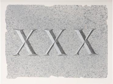 Ed Ruscha, XXX (Dedicated to a Jug of Whiskey), 2021