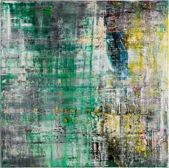 Gerhard Richter, Cage 6, 2006 Oil on canvas, 118 ⅛ × 118 ⅛ inches (300 × 300 cm)© Gerhard Richter 2020 (05102020)