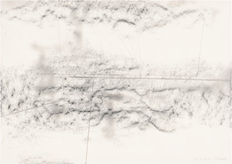Gerhard Richter, 29. Juli 2020, 2020 Graphite on paper, 16 ⅝ × 23 ½ inches (42.1 × 59.5 cm)© Gerhard Richter 2020 (05102020)