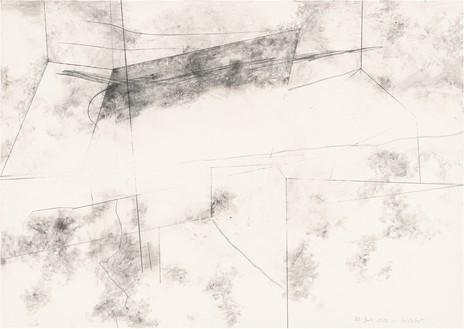 Gerhard Richter, 20. Juli 2020, 2020 Graphite on paper, 16 ⅝ × 23 ½ inches (42.1 × 59.5 cm)© Gerhard Richter 2020 (05102020)