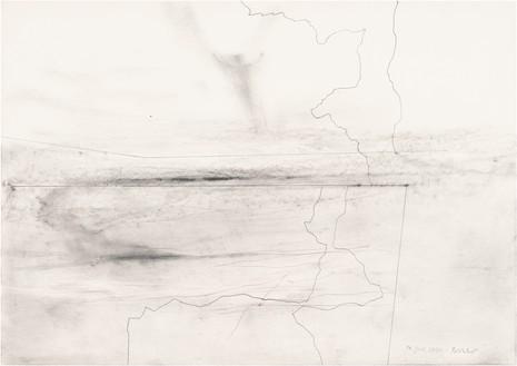 Gerhard Richter, 14. Juli 2020, 2020 Graphite on paper, 16 ⅝ × 23 ½ inches (42.1 × 59.5 cm)© Gerhard Richter 2020 (05102020)