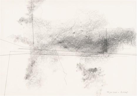 Gerhard Richter, 19. Juli 2020, 2020 Graphite on paper, 16 ⅝ × 23 ½ inches (42.1 × 59.5 cm)© Gerhard Richter 2020 (05102020)