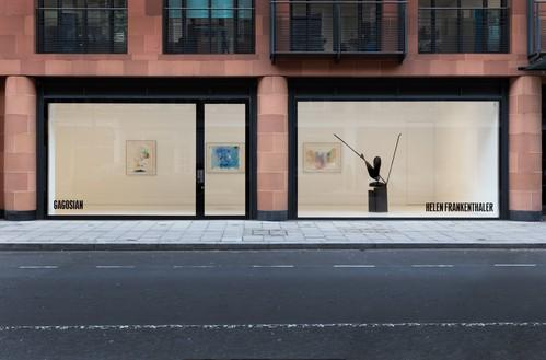 Installation view Artwork © 2021 Helen Frankenthaler Foundation, Inc./Artists Rights Society (ARS), New York. Photo: Lucy Dawkins