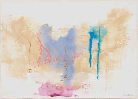 Helen Frankenthaler, Untitled, 1994 Acrylic on paper, 29 ½ × 41 ½ inches (74.9 × 105.4 cm)© 2021 Helen Frankenthaler Foundation, Inc./Artists Rights Society (ARS), New York