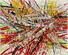 Mark Grotjahn, Untitled (Capri 53.88), 2021
