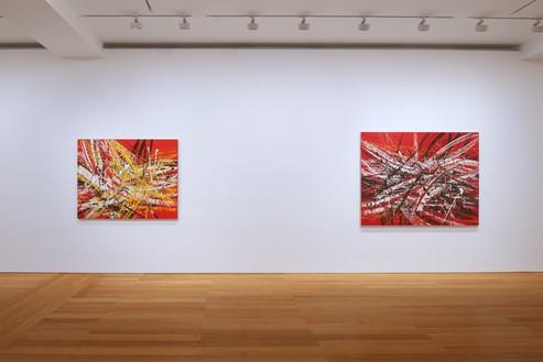 Installation view Artwork © Mark Grotjahn