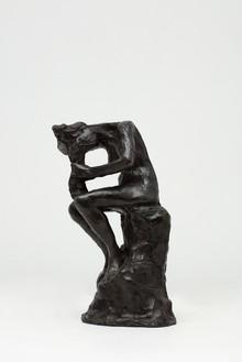 Auguste Rodin, Femme qui se peigne, c. 1900 Bronze, 9 ½ × 5 ¾ × 5 ⅜ inches (24 × 14.5 × 13.7 cm), AP 2/4 + edition of 8, cast: Fonte Coubertin (2019)Photo: Lucy Dawkins
