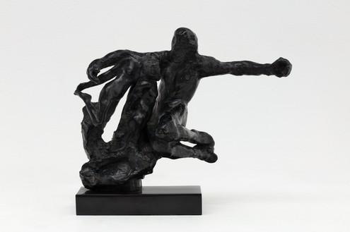 Auguste Rodin, La Création, c. 1890–1900 Bronze, 8 ½ × 10 ¼ × 4 ½ inches (21.5 × 26 × 11.5 cm), edition 5/8 + 4 AP, cast: E. Godard Fondr (2006)Photo: Lucy Dawkins
