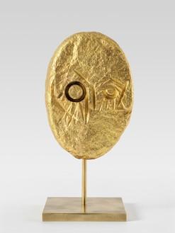 Thomas Houseago, Owl Demon (Lechuza), 2021 Bronze, 9 × 4 ½ × 4 inches (22.9 × 11.4 × 10.2 cm), edition 1/3 + 2 AP© Thomas Houseago. Photo: Stefan Altenburger